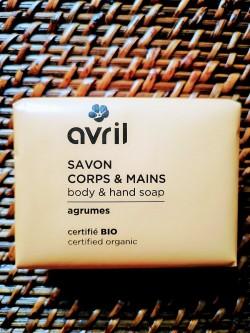 Savon bio et vegan Agrumes corps et mains 100 g | Tilleulmenthe Boutique de mode femme en ligne