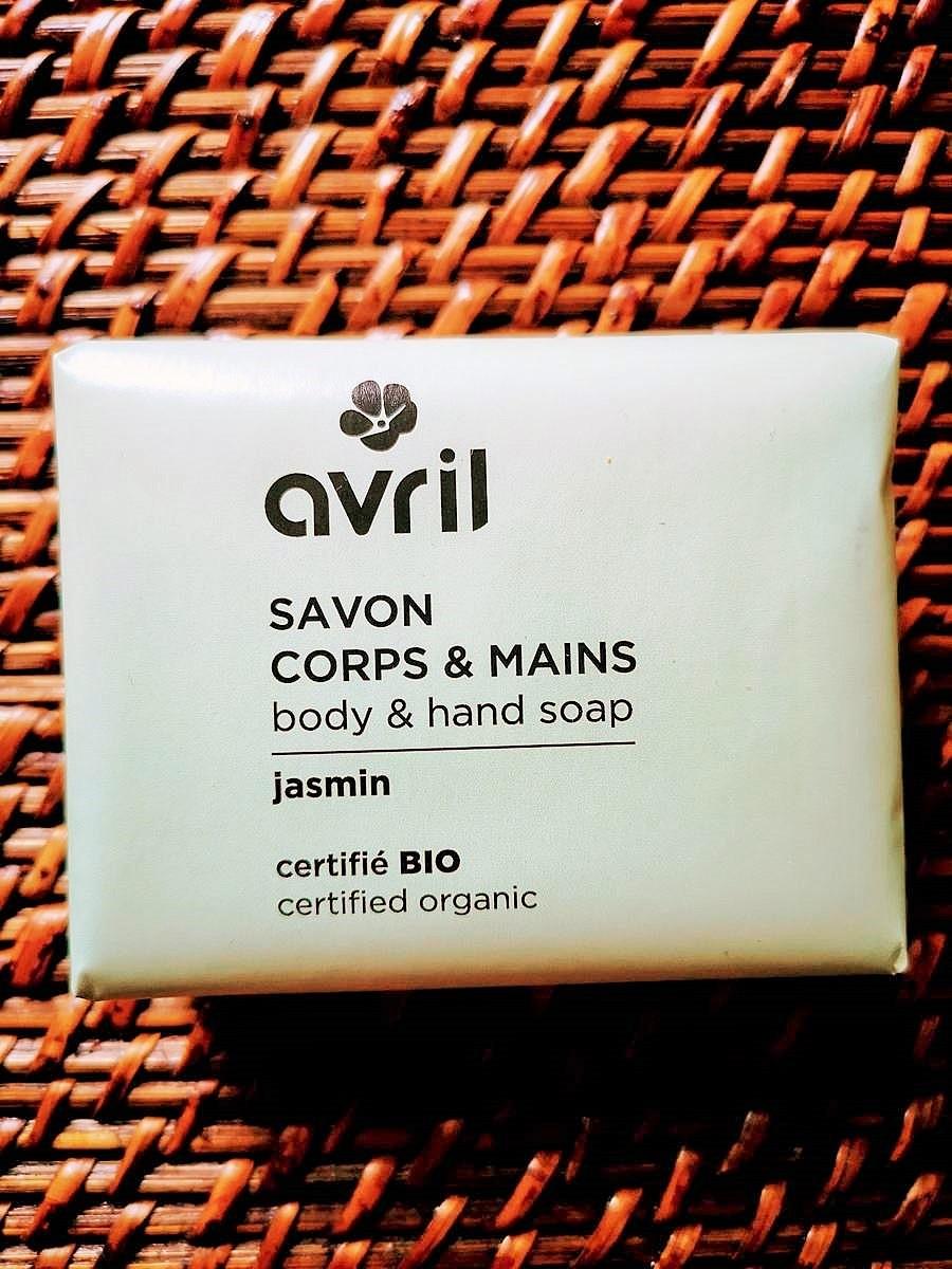 Savon bio et vegan Jasmin corps et mains 100 g | Tilleulmenthe Boutique de mode femme en ligne