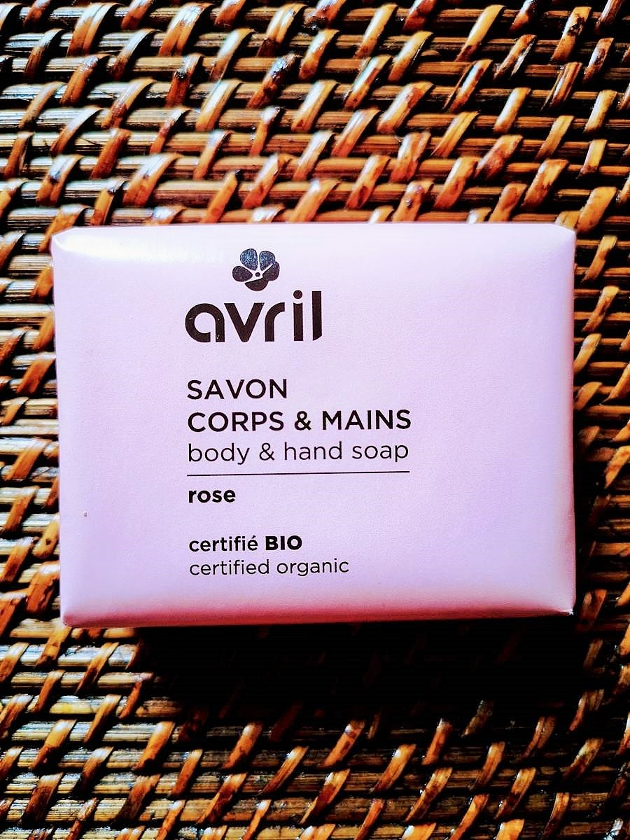 Savon bio et vegan Rose corps et mains 100 g | Tilleulmenthe Boutique de mode femme en ligne