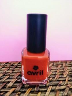 Vernis à ongles vegan longue tenue Orange brillant Tangerine 7 ml | Tilleulmenthe Boutique de mode femme en ligne