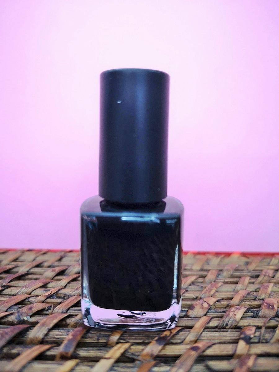 Vernis à ongles vegan longue tenue Nuit Noire 7 ml | Tilleulmenthe Boutique de mode femme en ligne