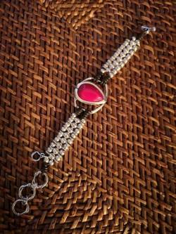 Bracelet Ciclon plaqué argent 2 l La mode au féminin prêt à porter femmes vêtements originaux fashion dernières tendances