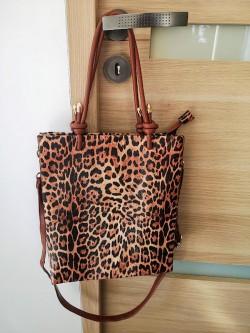 Sac léopard Vivien l 1 vue du sac entier l Tilleulmenthe boutique de mode femme