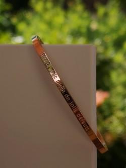Bracelet Parfaite avec de jolis défauts