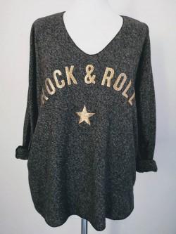T.Shirt Rock & Roll 2 | La mode au féminin prêt à porter femmes vêtements originaux fashion dernières tendances