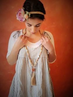 Sautoir Etoile Pompon 3 | La mode au féminin prêt à porter femmes vêtements originaux fashion dernières tendances