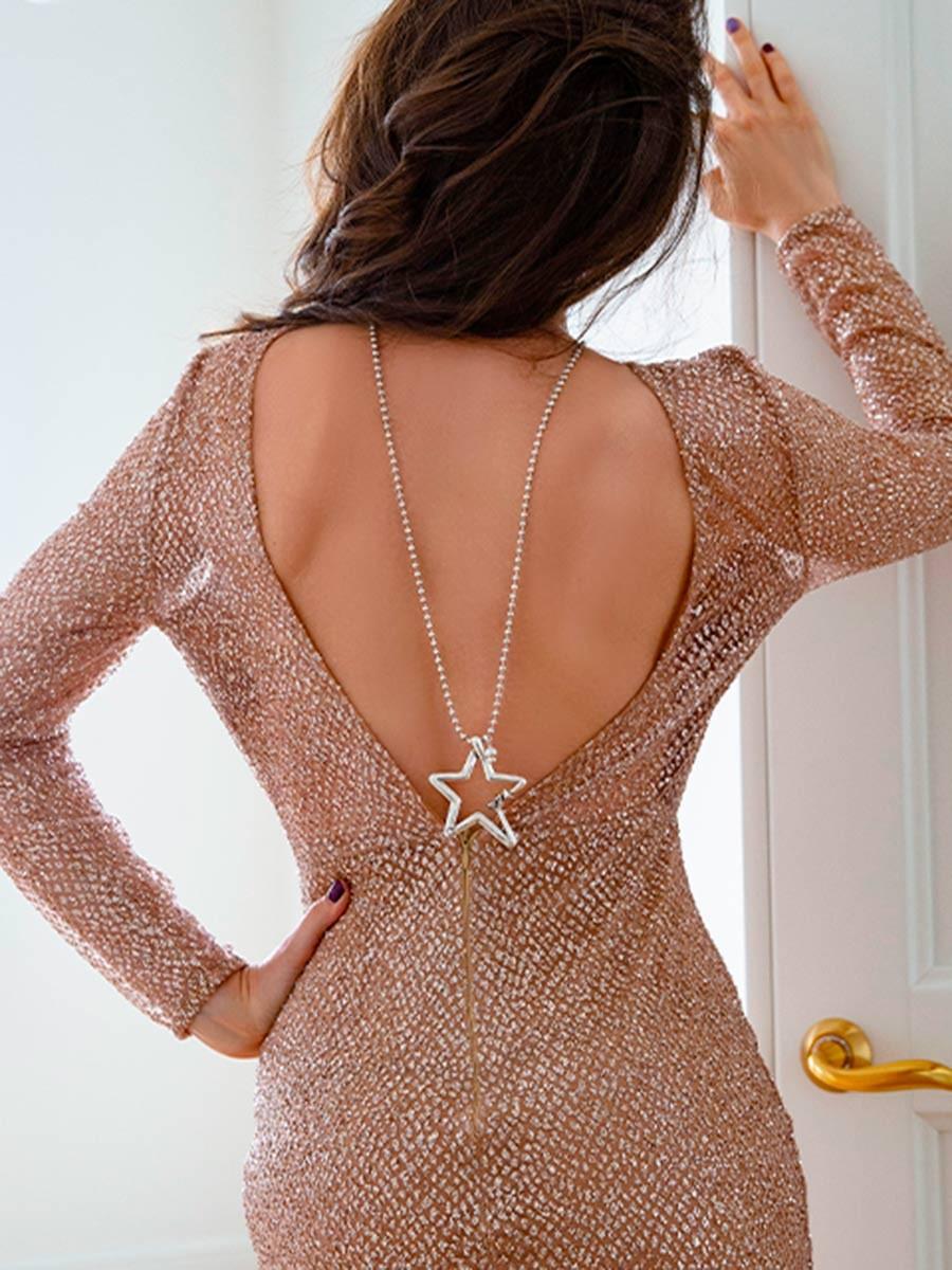 Sautoir Ciclon étoile 4 | La mode au féminin prêt à porter femmes vêtements originaux fashion dernières tendances